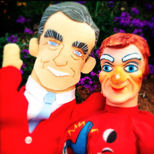 Mister Rogers Hand Puppet